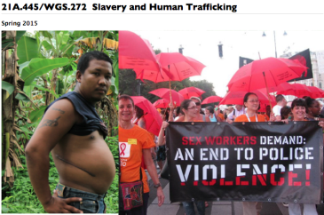 21A.445/WGS.272  Slavery and Human Trafficking